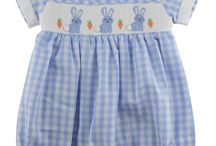 Easter Children's Clothing / Everything classic and traditional in Easter clothing for children.