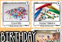 BIRTHDAY VOCABULARY LEARNING ACTIVITIES FOR CHILDREN