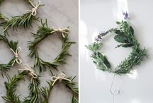 Floral and Herbal wreaths