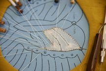 Lacemaking / Lace is making a comeback and so is this vintage craft.