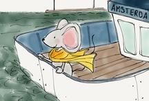 Mam is... thuis bij muis / Volg samen met je kind(eren) de avonturen van muis! Meer informatie over muis vind je op www.muisillustraties.nl