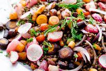 CUISINE SALADES / Recettes de salades