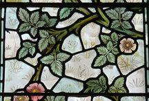 Stained glass / Flora