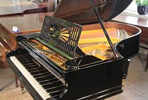 Pianos restored to their former glory / Pianos that have undergone full restoration
