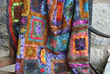 afghans & blankets / by Kathleen Robins