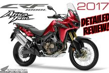 2017 Honda Africa Twin CRF1000L Review of Specs / Changes - Adventure Motorcycles