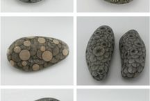 Stone art / Stone and pencil