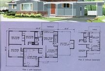 Planos de casas 50s, 60s