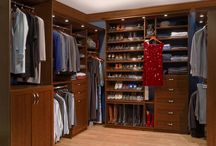 Master Closets / Efficient ways to organize your belongings!