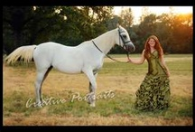 Senior shots with Horses inspiration / by Denise Boehmke Rogers