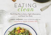 My Cookbook {Eating Clean} / Announcing my cookbook- Eating Clean: the 21-day plan to detox, fight inflammation and reset your body.    Pre-order my new book Eating Clean and get four free recipes! http://thehealthyapple.com/books/eating-clean/  / by The Healthy Apple