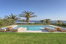 Santa Marina Pools / Beautiful luxury swimming pools with 50 shades of blue of your Santa Marina retreat.