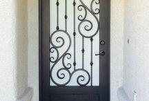 puerta de reja