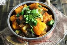 JCO Sabji, Shaak and Curry recipe