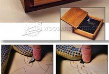 tallado madera y cofres
