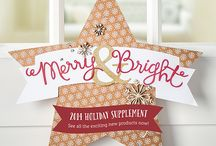 Stampin' Up Holiday Catalog 2014 / Check out all of the great products Stampin' Up has released to help with Holiday Crafting! http://www.stampinup.com/ECWeb/ItemList.aspx?categoryid=2008