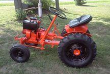 мини тракторы