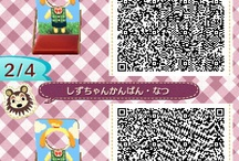 Face in Hole Board 顔出し看板 Animal Crossing QR Codes / Animal Crossing New Leaf: My design QR Codes とびだせ どうぶつの森 amiibo+ QRコード