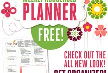 Planners - home, homeschool, & blog / Plan, Planning and more planning for home and family - and blogging!