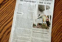 Inn the News / Check out articles and write-ups about the Arrowhead Inn!