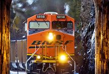 Train - BNSF - Burlington Northern Santa Fe