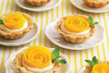 Fruit tarts ~ Pie ~  Custard