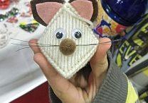pletená zvířátka