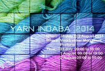 Yarn Indaba / An event/exhibition to promote the variety of locally processed and produced yarns available in South Africa for crafts i.e. knitting, crochet etc  The goal of the Yarn Indaba is to promote South African crochet/knitting and weaving yarn, wool, creativity and talent. The idea is to get all these people together in one area and then to introduce the public to the pure products eg wool, cotton, angora hair and mohair etc which are processed and made here in South Africa.
