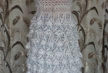 sukienka szydełko