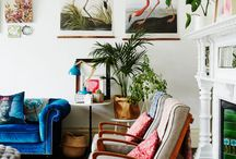 Cool and Eclectic / Drawing inspiration from a variety of funky sources.