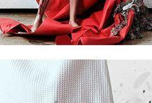 abstract garment