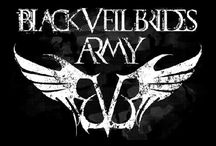"Black Veil Brides / Black Veil Brides is an American rock band based in Hollywood, California. The group formed in 2006 in Cincinnati, Ohio and is currently composed of Andrew ""Andy"" Biersack, Ashley Purdy, Jake Pitts, Jeremy Miles ""Jinxx"" and Christian ""CC"" Coma."