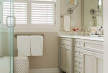 Bathrooms beige