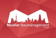 Mueller Baumanagement GmbH / This is the branding that we made for construction company Mueller Baumanagement GmbH.