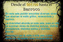 Desde el Gótico hasta el Barroco. / Historia del arte, II.global.