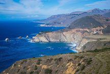 Steven Cox Instagram Photos Near Big Sur and Monterrey CA.  #nature #blue #ocean #travel #california