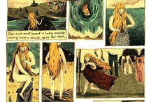 ilustração, histórias