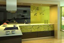 Kuckó Design - Modern konyhák színesben - zöldek, kékek, pirosak, sárgák! :)