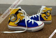 sapatos minions