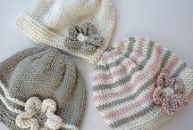 pletené čiapočky