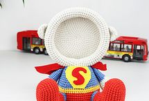 Crochet portaretratos