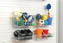 Open Storage Ideas / Storage and organization ideas for the active family - kid's toys, camping equipment, beach and picnic stuff, etc.