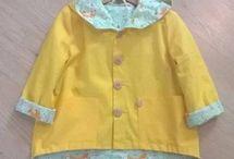 Wykroje dziecięce - kurtki