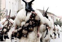 Native festival costumes