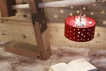 Lampe de chevet Decoration montagne-Mountain design-Decorazione montagna / Luminaires