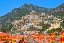 Picturesque Positano / A collection of our best photographs from our trip to this spectacular hill-town in Italy, with killer views from every curve of its winding road, quaint hotels & churches, and blossoms covering everything that stands still long enough.... / by New Jetsetters - Deborah Thompson