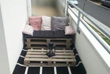 Balkon couch