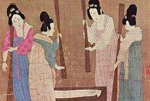 origen de la seda / Según la tradición china, la historia de la seda empieza en el siglo XXVII a. C.
