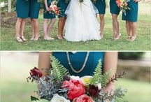 Colour Palette: Teal / Loving this rich hue for a wedding. So elegant and sophisticated.