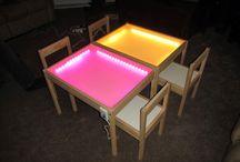 Světelné stoly